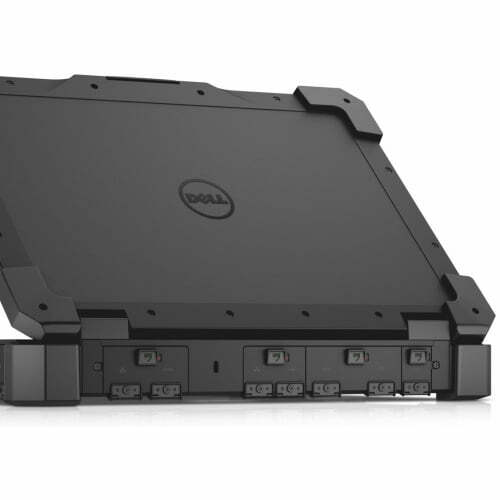 Dell Rugged Extreme 14 Back